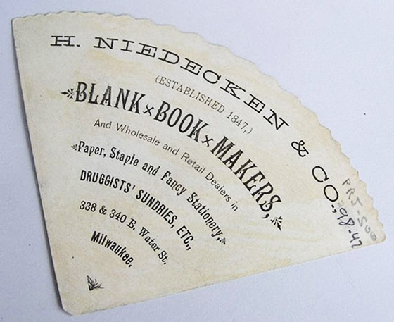 blank book makers business card
