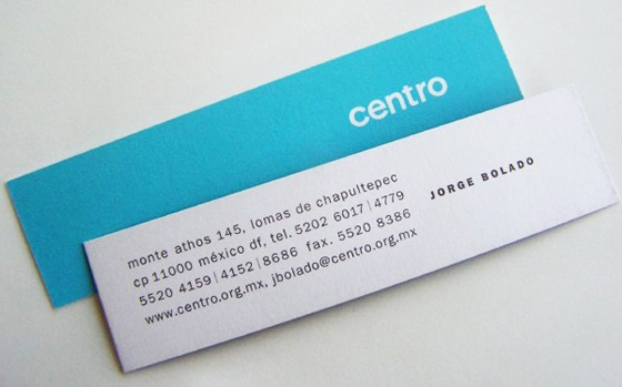 Small business cards by centro inspiration CardFaves
