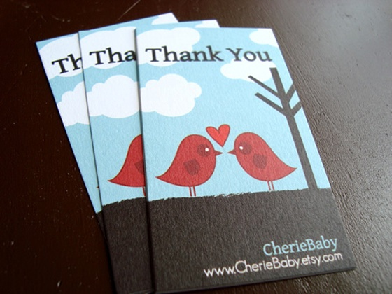cherie baby business card