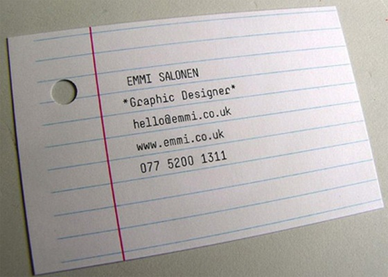 emmi salonen business card