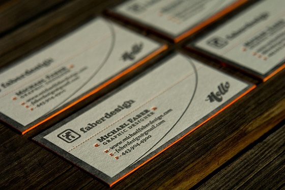 Faberdesign business card