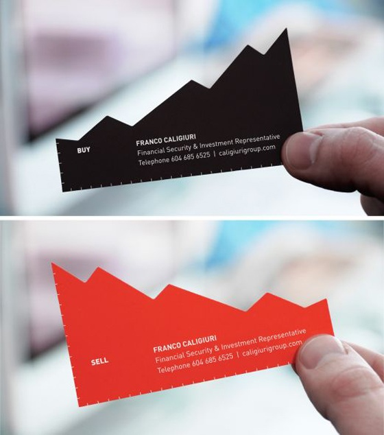 financial adviser business card