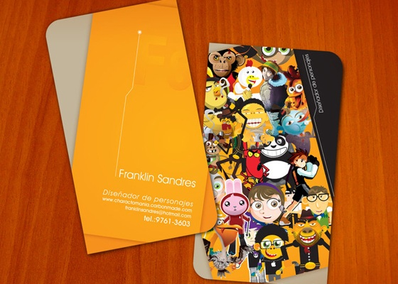 franklin-sandres business card