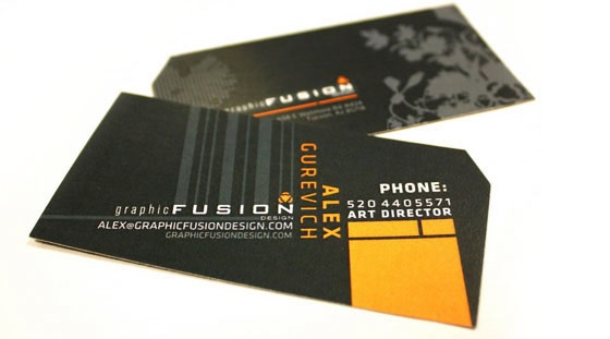 Graphic Fusion business card