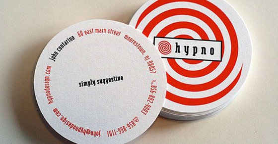 Hypno business card