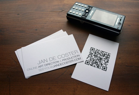 visiting business card