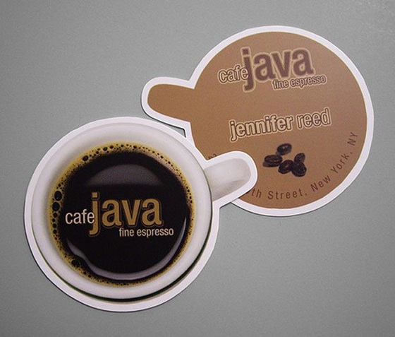 java business card