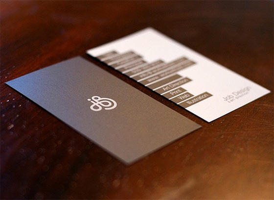 Job Design business card