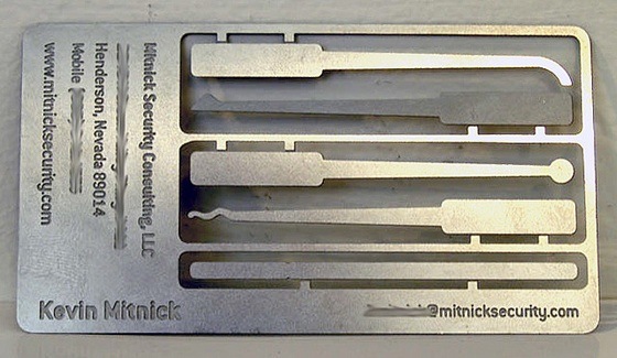 Tool set business card inspiration cardfaves kevin mitnick business card colourmoves