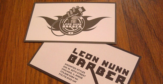 Leon Nunn business card