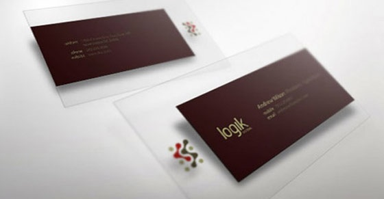 logik business card