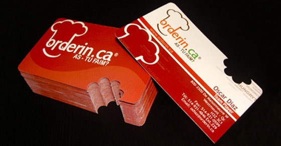 Orderin.ca business card