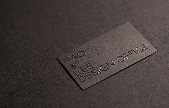 Pao and Lee business card