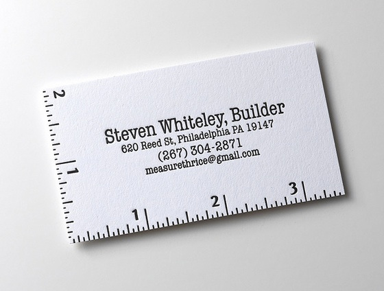 steven whiteley builder business card
