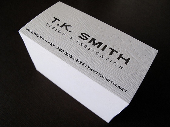 t.k. smith business card