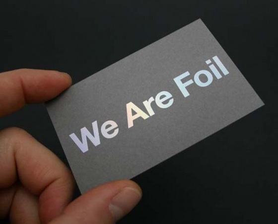 We are foil business cards inspiration cardfaves foil business card colourmoves